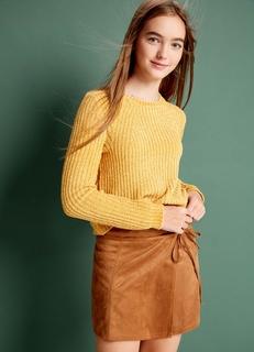4381be668ad Мини-юбки замшевые – купить короткую юбку в интернет-магазине