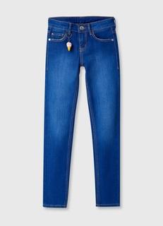 Яркие джинсы Slim fit для девочек Ostin