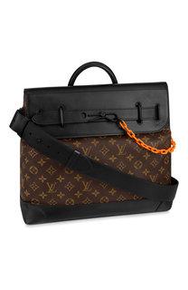 Кожаная сумка steamer pm