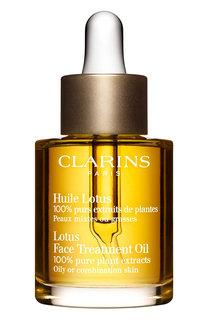 Косметическое масло lotus для комбинированной или жирной кожи Clarins