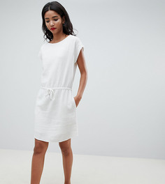 Свободное платье со шнурком Esprit - Белый