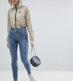 65522075ebd Синие супероблегающие джинсы из органического хлопка с завышенной талией  Weekday Body - Синий