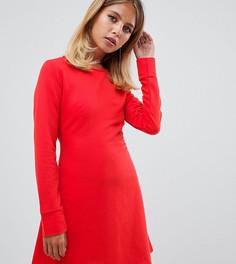 Красное платье с поясом Missguided - Красный