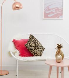Чехол для диванной подушки с леопардовым принтом Stradivarius - Мульти