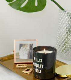 Черная свеча с надписью River Island - Черный