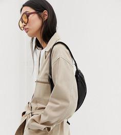 Светло-бежевая куртка с поясом Weekday - Бежевый