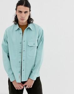 Свободная джинсовая рубашка Carhartt WIP Reno - Зеленый