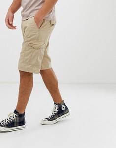Бежевые шорты карго Esprit - Бежевый