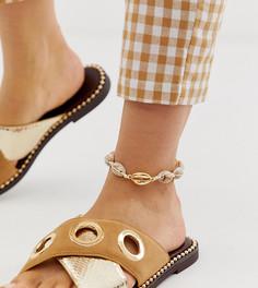 Браслет на ногу DesignB London - Золотой