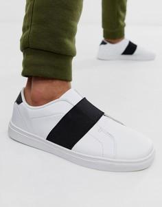 Белые кроссовки в полоску Loyalty and Faith - Белый