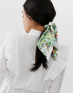 Головной платок с цветочным принтом в винтажном стиле ASOS DESIGN - Мульти