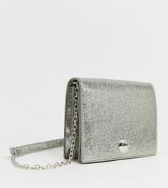 Серебристая сумка через плечо Pimkie - Серебряный