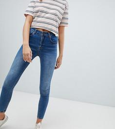 Синие джинсы скинни из переработанного волокна Pull&bear - Синий