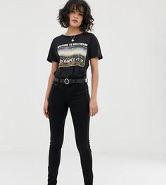 Черные джинсы пуш-ап Pull&Bear - Черный