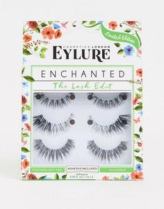 Набор накладных ресниц Eylure Enchanted Lashes - СКИДКА 23 - Черный