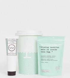 Подарочный набор Frank Body Coffee Cup Coco Loco - Кокосовый скраб и бальзам для тела - Бесцветный