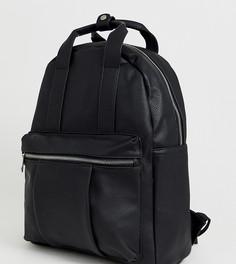 Черный рюкзак с ручкой спереди Stradivarius - Черный