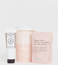 Подарочный набор Frank Body Coffee Cup Babeachino - Кофейный и кремовый скраб для лица - Бесцветный