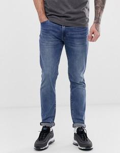Светлые узкие джинсы с заниженной талией Levis 511 - Синий