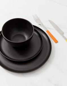 Столовый сервиз из 3 предметов ASOS SUPPLY - Черный