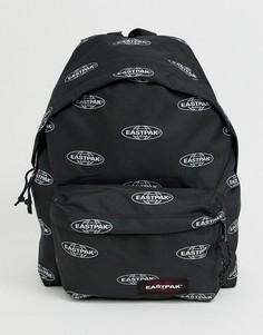 Рюкзак с принтом логотипа Eastpak Padded Pakr - Черный