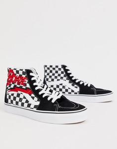 Черные высокие кроссовки Vans x David Bowie Sk8 - Черный