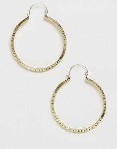 Женские серьги-кольца