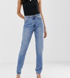 Выбеленные джинсы в винтажном стиле с завышенной талией Vero Moda Tall - Синий