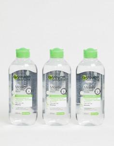 Мицеллярная вода для комбинированной кожи (3 шт.) Garnier - 400 мл - СКИДКА 33 - Бесцветный