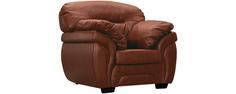 Кресло кожаное Бристоль Коричневый (Натуральная кожа) Home Me