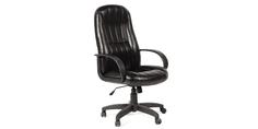 Кресло для руководителя Chairman 685 вариант №3 (экокожа, черный) Home Me