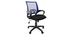 Кресло для оператора Chairman 696 (черный/синий) Home Me