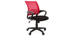 Кресло для оператора Chairman 696 (черный/красный) Home Me