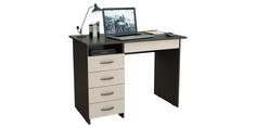 Письменный стол Харви вариант №1 левый (венге/дуб молочный) Home Me