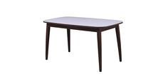 Обеденный стол Турин (орех темный/белый) Home Me