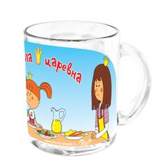 Набор посуды Жила была царевна стекло Приор Групп