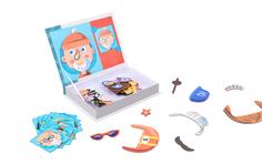 Магнитный пазл IQ-Book Happy Baby