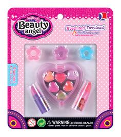 Набор детской декоративной косметики Сердце, мини-набор Beauty Angel