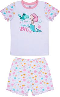 Пижама для девочки (комплеки фуфайка и шорты) Сновидения Barkito