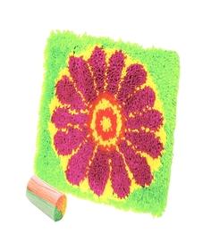 Набор для вышивания Коврик Цветок ДЕЛАЙ С МАМОЙ