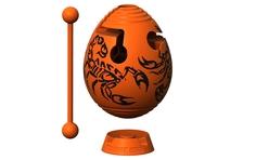 Головоломка Скорпион оранжевый Smart Egg