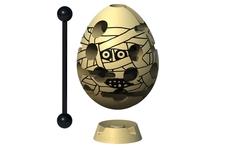 Головоломка Мумия бежевый Smart Egg