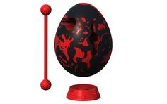 Головоломка Лава черный с красным Smart Egg