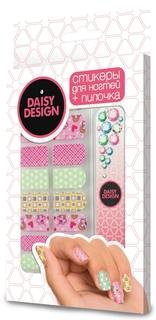 Набор стикеров для дизайна ногтей Romantic Коллаж Daisy Design