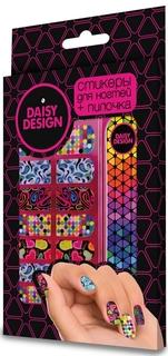 Набор стикеров для дизайна ногтей Sweet Hearts Коллаж Daisy Design