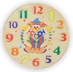 пазлы Рамка-пазл Часы-цифры Wooden Toys
