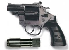 Игрушечное оружие и бластеры Americana Polizei с глушителем Edison Giocattoli