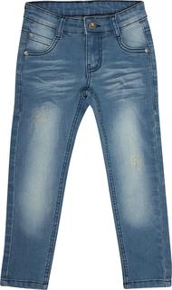 Брюки модель «джинсы» детские Морские приключения синие Barkito