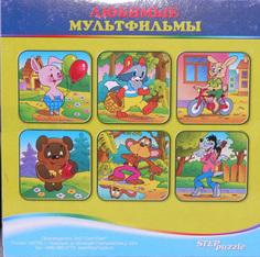 Кубики Любимые мультфильмы Step Puzzle
