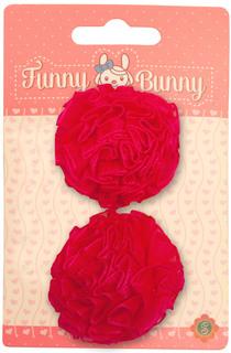 Заколки для волос Розовые банты Funny Bunny
